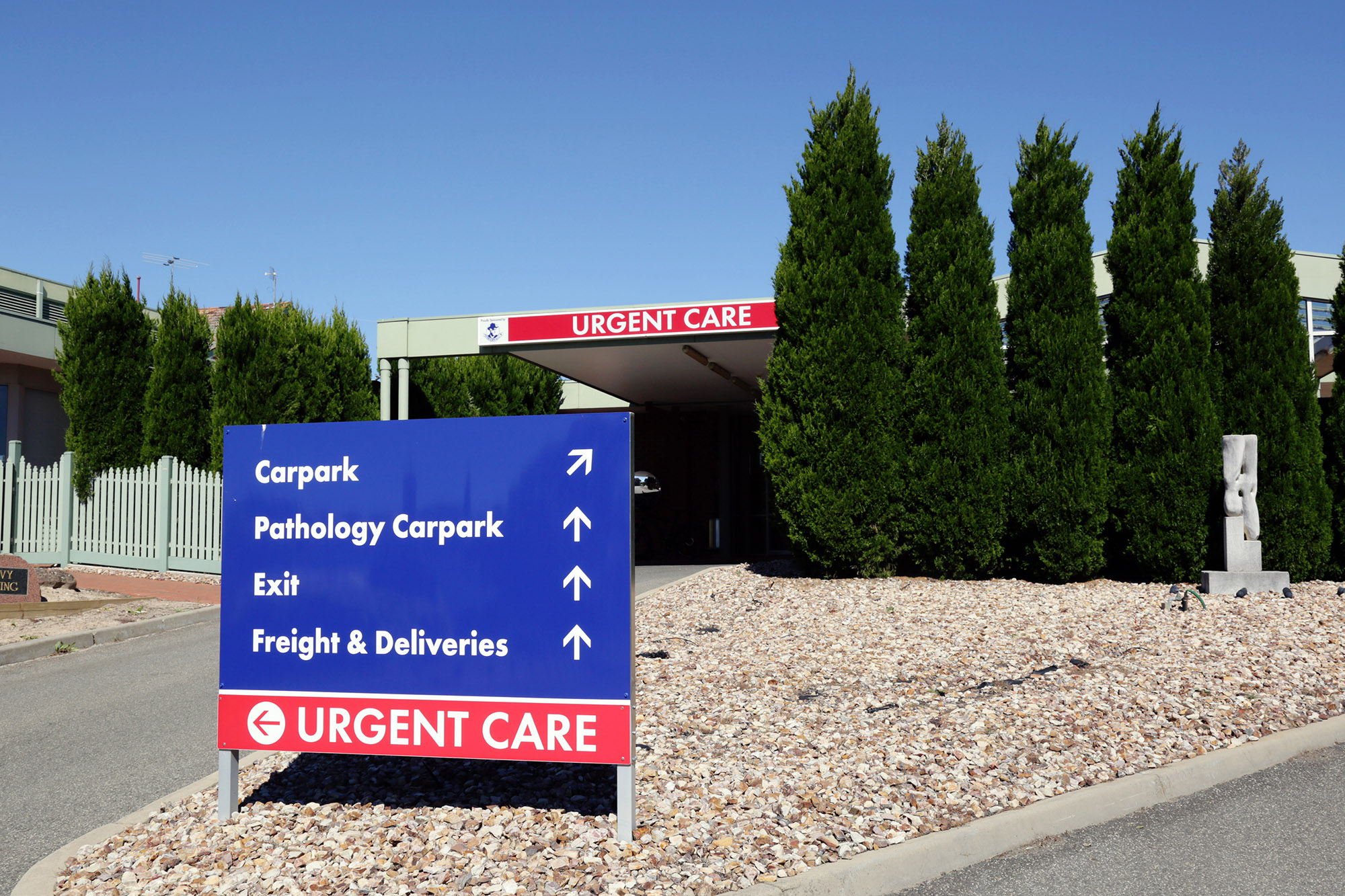 our-services-urgent-care-external-signage
