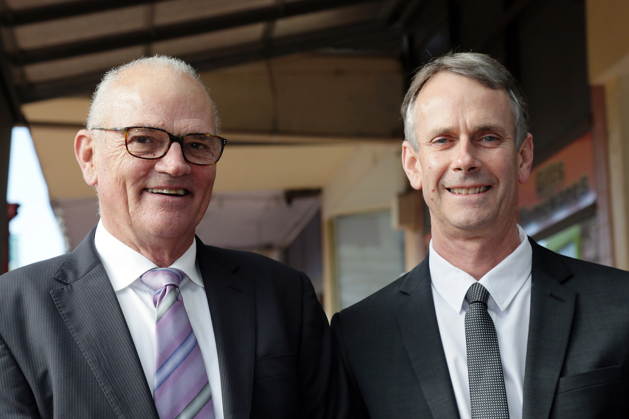 New appointed Foundation Trustees Mr Greg Earle and Mr Brian Hancock