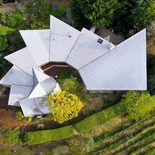photo of Helix House taken from above