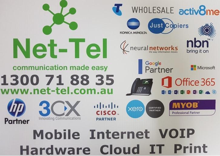 Net-Tel logo