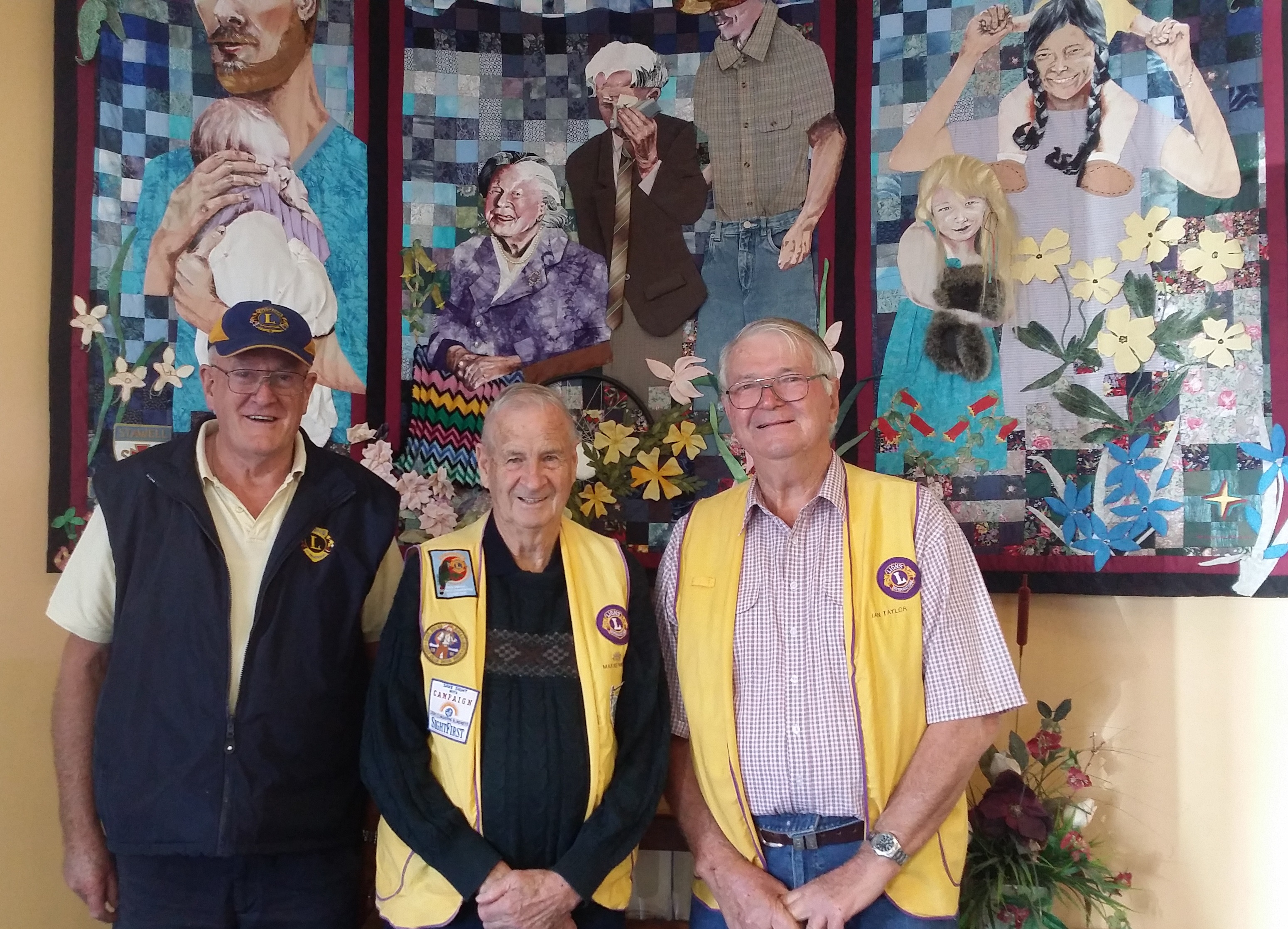 Lions Club members