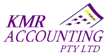KMR accounting logo