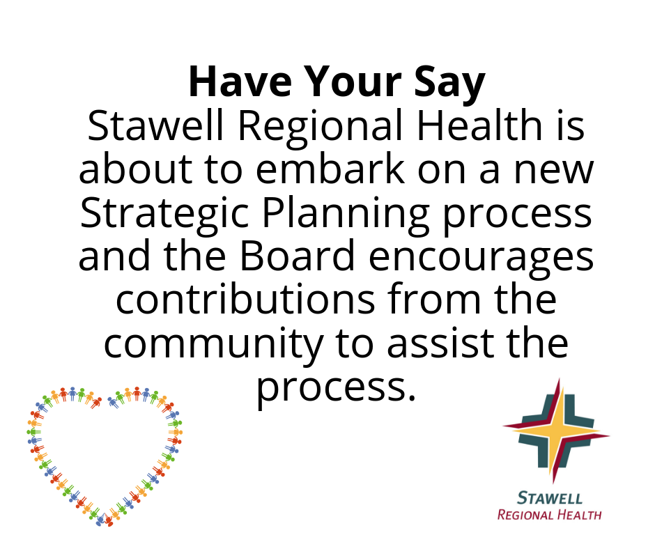 Have your say - Stawell Regional Health Strategic Planning community participation
