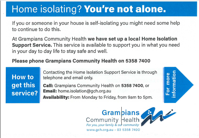 Home Isolation Support Service