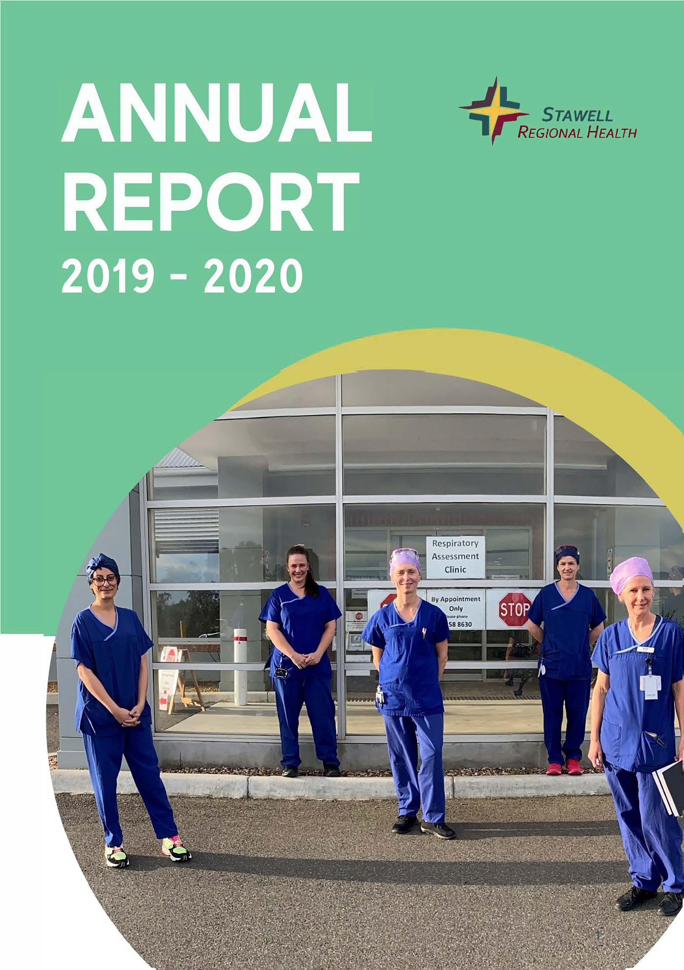 Stawell Regional Health Annual Report 2019-2020
